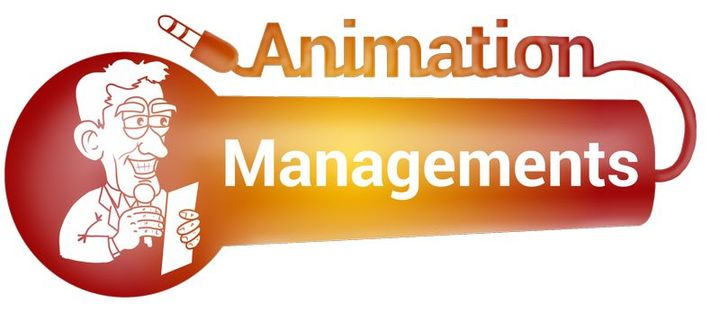 LOGO ANIMATION MANAGEMENTS TRANSPARENT